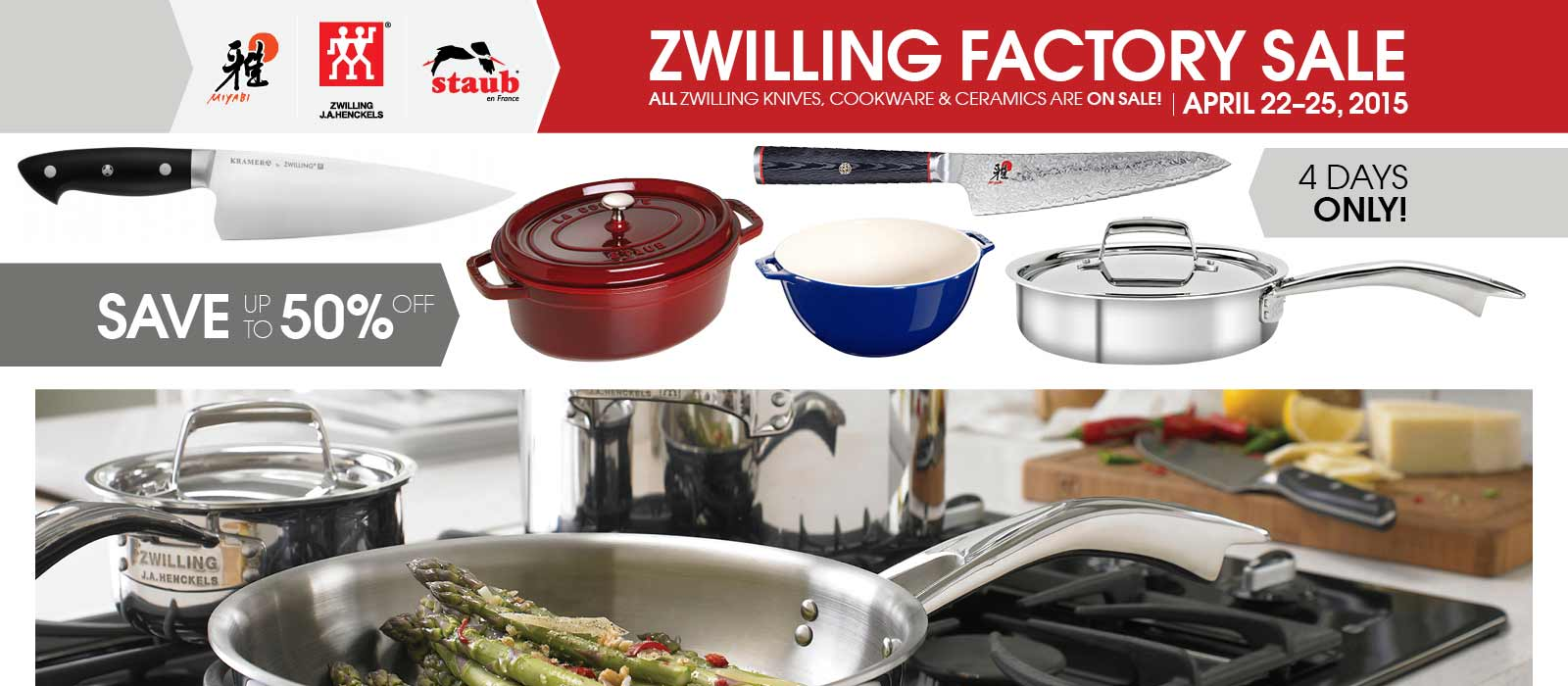 Zwilling Clear out sale