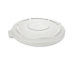 Rubbermaid® BRUTE Container Lid 32 Gal, White - FG263100WHT