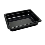 "Cambro Camwear® Food Pan, 1/2 Size, 2.5"" Deep, Black - 22CW110"