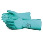 "Superior® Chemstop™ Nitrile Gloves, Medium, 19"" - NI4622-8"