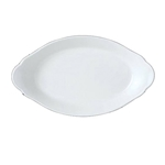 "Simplicity Oval Eared Dish - 8""x4.5"""