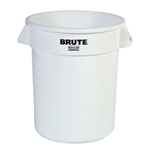 Rubbermaid® BRUTE Container 10 Gal, White - FG261000WHT