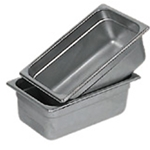 Browne® Steam Table Pan, 1/3 Size, 6