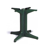 Grosfillex® Table Base 2000, Amazon Green - US624278