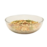 "Cambro® Camwear Round Ribbed Bowl, Clear, 10"" - RSB10CW135"