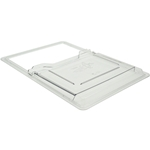"Cambro® Sliding Lid, Clear, 18"" x 26"" - 1826SCCW135"