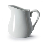 BIA Porcelain® Pitcher, Milk Labeled, White, 4 oz - 900149MLK