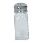 Browne® Square Shaped Salt and Pepper Shaker, 2 oz - 575183