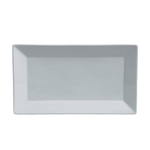 "Steelite® Varick Cafe Porcelain Rectangular Tray, White, 11"" x 6"" - 6900E523"