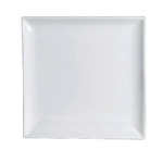 "Steelite® Varick Cafe Porcelain Square Plate, White, 5.5"" - 6900E541"