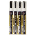 American Metalcraft® White Chalkboard Markers - SMA510V4WT