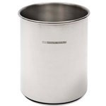 Adamo Imports® Catering Line Stainless Steel Utensil Crock W/ Rubber Base - 70300