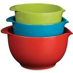 Trudeau® Mixing Bowls Assorted Sizes, 3PC - 0993010