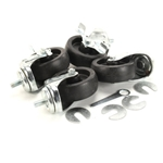 "True® 2.5"" Castors w/0.5"" Stems (Set of 4) - 830280"