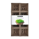 "Urban Cultivator® 505 Compostable Tray for UC-C, 5""x5"", 4Pk - UC-505-4"