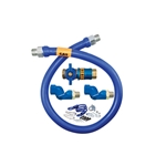 "Dormont® Gas Connector Kit w/2 Swivels & Restraining Cable, 3/4"" x 36"" - 1675KITCF2S36"
