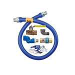 "Dormont® Gas Connector Kit w/Swivel & Restraining Cable, 3/4""x36"" - 1675KITS36"