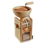 KoMo® Hand Crank Mill, Maple Wood & Stainless Steel, 12