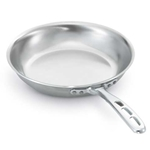 "Vollrath® Wear-Ever Fry Pan W/ Natural Finish & TriVent Plated Handle, 12"" - 67112"