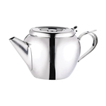Browne® Teapots Stackable W/ Strainers, 32oz - 515153