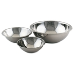 Browne® Mixing Bowl, Stainless Steel, 6.8Qt - S776
