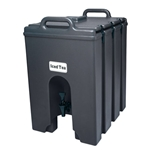 Cambro® Insulated Camtainer, Black, 11.75Gal - 1000LCD110