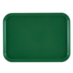 "Cambro® Fast Food Tray, Sherwood Green, 12"" x 16"" - 1216FF119"