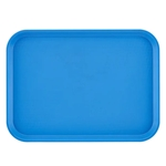 "Cambro® Fast Food Tray, Blue, 12"" x 16"" - 1216FF168"