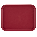 "Cambro® Fast Food Tray, Cranberry, 14"" x 18"" - 1418FF416"