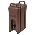 Cambro® Camtainer, Dark Brown, 4.75Gal - 500LCD131