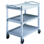 Cambro® KD Utility Cart, Speckled Gray, 400lbs - BC340KD480