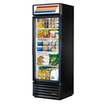 True® Glass Door Merchandiser Cooler 1 Door 19 CU FT, Black - GDM-19T-HC-LD-BLK