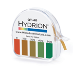 Micro Essentials® Hydrion Papers, 0-500PPM - QT-40