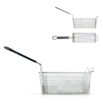 "Prince Castle® Fry Basket for Garland Frymaster Fryer, 1/3 Size, 13.25"" x 4.25"" - 676-14P"