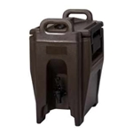 Cambro® Ultra Camtainer Insulated Beverage Dispenser, Granite Sand, 2.5 Gal - UC250194
