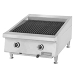 "Garland® Countertop Charbroiler w/Adjustable Cast Iron Grates, Natural Gas, 24"" - GTBG24-AR24"
