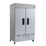 Habco® Dependable Series Reach-In Refrigerator, 2-Door, 36 CU FT - SE46HCSA