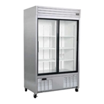 Habco® Dependable Series Merchandising Refrigerator, 2-Door, 42 CU FT - SE42SXG