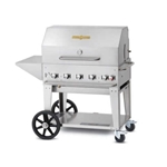 "Crown Verity® Mobile Outdoor Grill, 5-Burner, 36"", Natural Gas - MCB-36-PKG-NG"