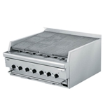"Quest® Stainless Steel Flavouring Charbroiler, Natural Gas, 34"" - 105-FBQBD34(NG)"
