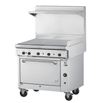 "Quest® Oven Range w/Fry Top, 36"" - 100-1FRYTOP(NG)"