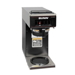 BUNN® Low Profile Pourover Coffee Brewer w/Lower Warmer - 13300.6000