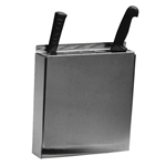 Johnson-Rose® Knife Holder, Stainless Steel - 5500