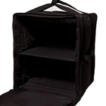 "A+ Bags® Semi Rigid Delivery Bag, Black, Large, 17"" x 17"" x 23"" - PBF10/1416SB"
