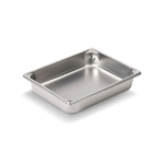 "Vollrath® Super Pan V™ Stainless Steel Steam Pan, 2/3 Size, 2.5"" Deep - 30122"
