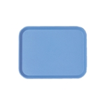 "Cambro® Fast Food Tray, Blue, 10""x14"" - 1014FF168"