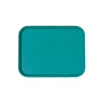 "Cambro® Fast Food Tray, Teal, 10""x14"" - 1014FF414"