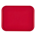 "Cambro® Fast Food Tray, Red, 11-7/8""x16-1/8"" - 1216FF163"