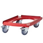 Cambro Camdolly Epp GoBox Cart, Red - CD3253EPP158