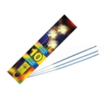 Chandelles Tradition Inc® Sparklers, 10 Per Pkg, 6 -.625